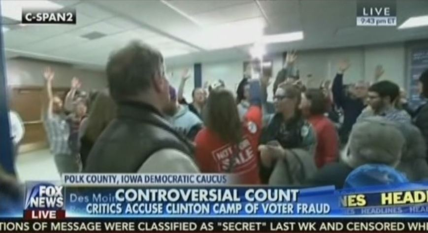 FoxNews first reported a completely bogus voter fraud claim at the Iowa caucuses.