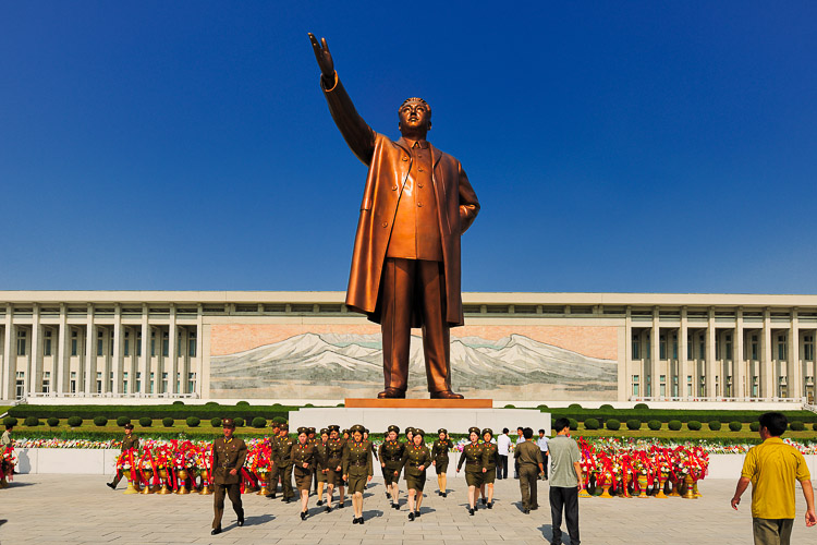 North_Korea statue